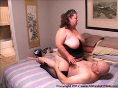 Short BBW Anal Granny With Huge Tits