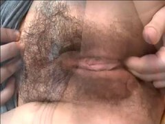 Hot Compilation of Hairy Masturbation 4 by TROC