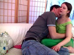 Teeny enjoys rough anal sex with her bf