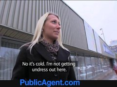 PublicAgent Big nipples Nella gets her tight pussy...