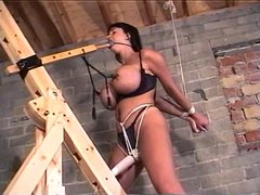 Summer Cummings Tied Up BDSM Sex Slave