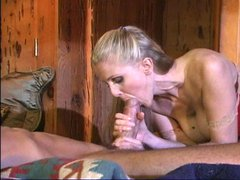 Julia strokes and blows billy
