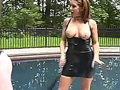 Poolside Female Domination