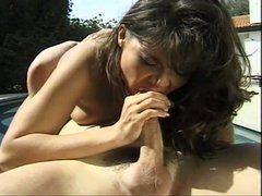 Brooke ashley gets nailed outdoors
