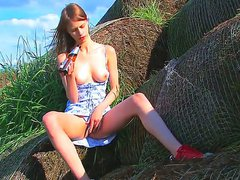 Gorgeous schoolgirl Beata is out in