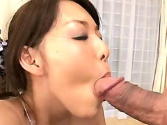 Gorgeous japanese mom gets DP by airliner1