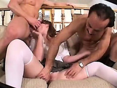 step daughter fucks stepdad and friend