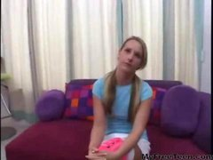 Casting Couch Teens Pink Socks teen amateur teen...