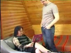 Mature Anal And The Boy