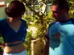 cute Innocent teen first time defloration of tight...