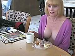 Taboo first encounter and Mommy found my porn