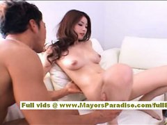 Rio Asian girl gets her hairy pussy licked