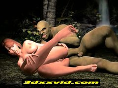 3D Animated Demon fucking and Goblin anal