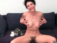 Horny mature solo