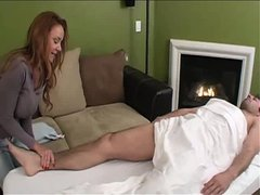 Beautiful mature amateur milf wife and her lover cuckold her filming husband