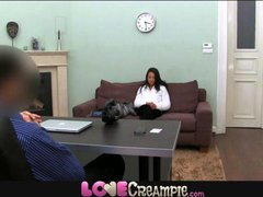Love Creampie 18 year old tries anal and gets pussy...