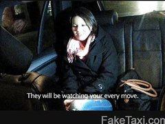 FakeTaxi - Cute young girl must pay her way