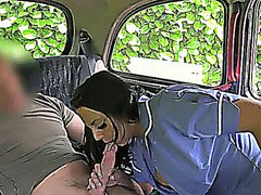 Real nurse gets facial in fake taxi