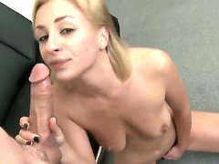 Blonde chick Lexi Swallow is cum