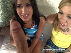 Nicole Ray and Amia Miley are two teen chicks that