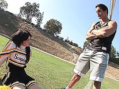 Hot barely legal babe ashlyn rae pounded by a football player
