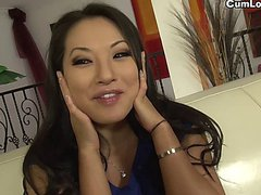 Babe Asa Akira fucked after a Dirty Interview