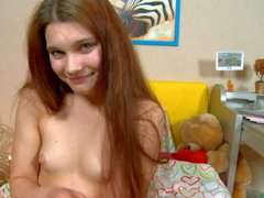 Tender 18 year old cutie Aurelia with itty bitty tits