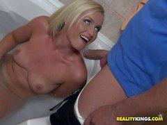 Kathia Nobili is a hot bodied milf with hairy snatch.