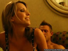 Porn star Courtney Cummz is a woman that makes his