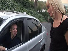 Hot blonde MILF picked up from the street and fucked hard