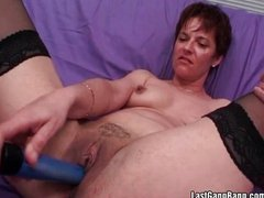 Mature couple enjoy in oral playing