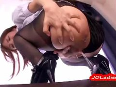 Secretary In Pantyhose Giving Blowjob Fucked From...