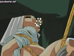 Anime sister gets licked and drilled