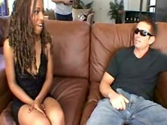 Behind the scenes of White Man's Burden with Candace Von and Vanessa Blue