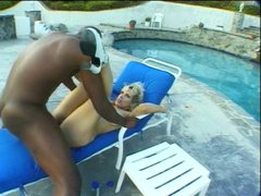 Randi Storm Lexington Steele - Big Dick Anal Sex Outdoor