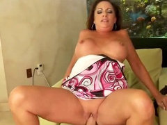 Hot MILF RIdes Cock Cowgirl