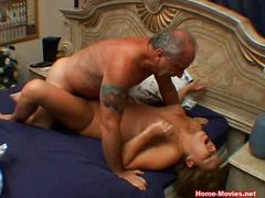 Cuckold Horny Chick Fucked By Old Rich Guy