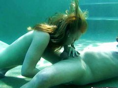 Girl tricked into sex underwater