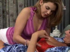 Deauxma lesbians sex with young loving bedroom