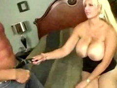 Busty Mature fucks with plumber