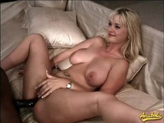 Big black cock anal with Alison Kilgore