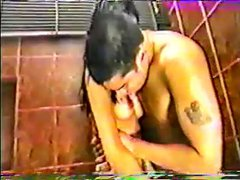 Asian Shower Fuck with a Tight filipina