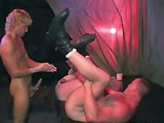 bareback group sex video