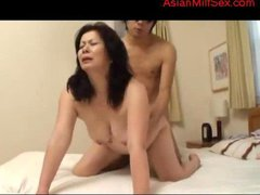 Busty Fat Milf With Hairy Pussy Fucked By Young Guy...