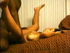Sexy ebony wife cheating
