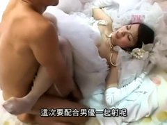 Just before the wedding 2(censored Chinese subtitle)
