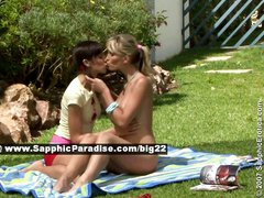 Avidat and Geena lesbo girls fingering