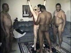 Mature Slut Wife Gangbanged By Blacks - Part 1