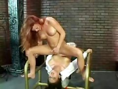 Lesbian squirt victim, and she loves it