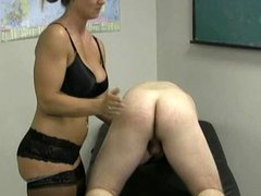 cfnm humiliation bent over handjob.
